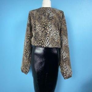 Leopard Blouse | Zara